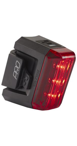 Cube Pro fietsverlichting zwart